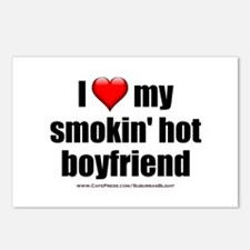 """Love My Smokin' Hot Boyfriend"" Postcards (Package"