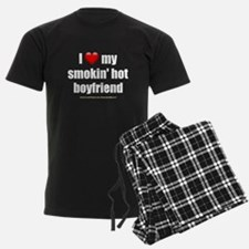 """Love My Smokin' Hot Boyfriend"" Pajamas"