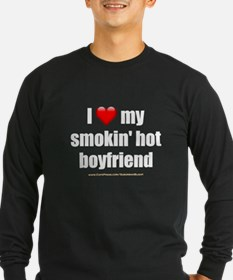 """Love My Smokin' Hot Boyfriend"" T"