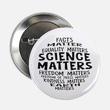 "Science Matter Bubble 2.25"" Button (10 pack)"