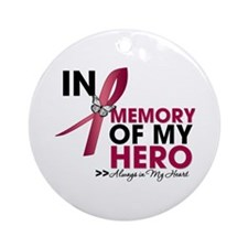 Amyloidosis In Memory Ornament (Round)