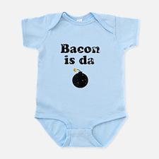 Vintage Bacon is da bomb 1 Body Suit