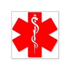 medic alert logo Sticker