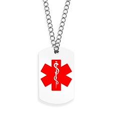 medic alert logo Dog Tags