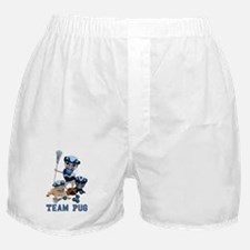 team pug lacrosse ts and Boxer Shorts