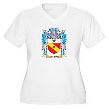 Antoine Coat Of Arms Plus Size T-Shirt