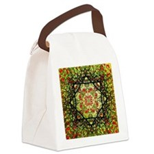 Hearts abstract Canvas Lunch Bag