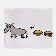 assburgers.png Throw Blanket