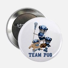 "team pug lacrosse ts and 2.25"" Button"