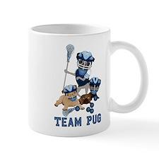 team pug lacrosse ts and Mug