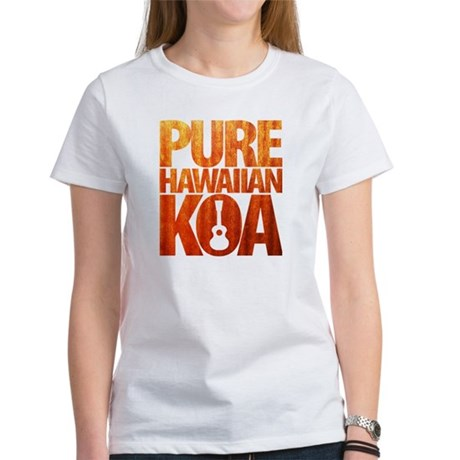Pure Hawaiian Koa T-Shirt