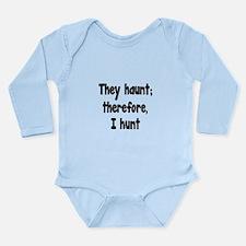 Ghost Hunter's Philosophy Long Sleeve Infant Bodys