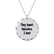 Ghost Hunter's Philosophy Necklace Circle Charm
