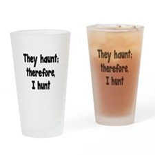 Ghost Hunter's Philosophy Drinking Glass