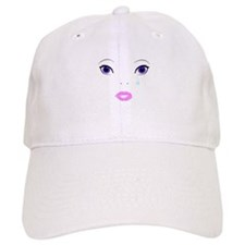 Sad Face Baseball Baseball Cap