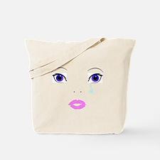 Sad Face Tote Bag