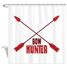 BOW HUNTER Shower Curtain