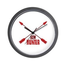 BOW HUNTER Wall Clock