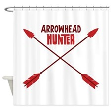 ARROWHEAD HUNTER Shower Curtain