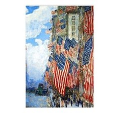 The Fourth of July by Chi Postcards (Package of 8)