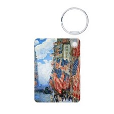 The Fourth of July by Chil Keychains