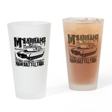 M1A2 Abrams Drinking Glass