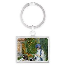 The Terre-Cuite Tea Set (French Landscape Keychain