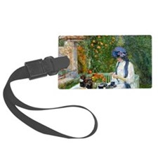 The Terre-Cuite Tea Set (French  Luggage Tag