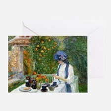 The Terre-Cuite Tea Set (French Tea  Greeting Card