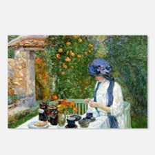 The Terre-Cuite Tea Set ( Postcards (Package of 8)