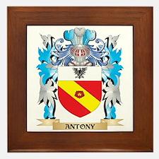 Antony Coat Of Arms Framed Tile