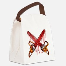 Bloody Chainsaws Canvas Lunch Bag
