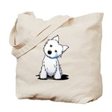 West highland terrier Canvas Totes
