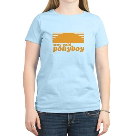 """Stay Gold Ponyboy"" [The Outs Women's Light T-Shir"