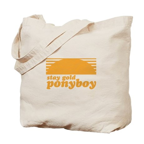"""""""Stay Gold Ponyboy"""" [The Outs Tote Bag"""