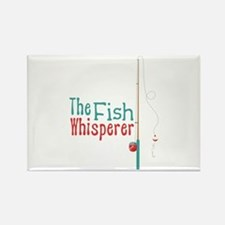 Fishing magnets fishing refrigerator magnets cafepress for The fish whisperer