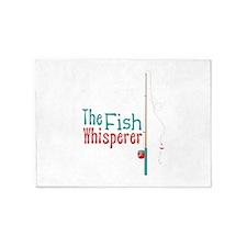 The Fish Whisperer 5'x7'Area Rug