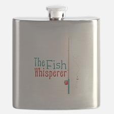 The Fish Whisperer Flask