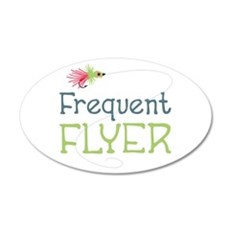 Frequent Flyer Wall Decal