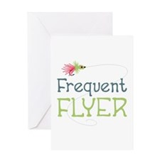 Frequent Flyer Greeting Cards