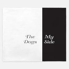 The Dogs Side / My Side King Duvet