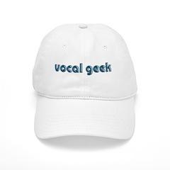 Vocal Geek Blue logo Baseball Cap