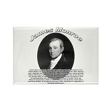 James Monroe 01 Rectangle Magnet