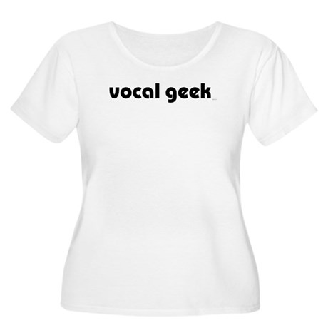 Vocal Geek Women's Plus Size Scoop Neck T-Shirt