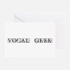 Vocal Geek Goth Greeting Cards (Pk of 10)