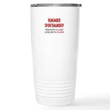 Sportsmanship Travel Mug