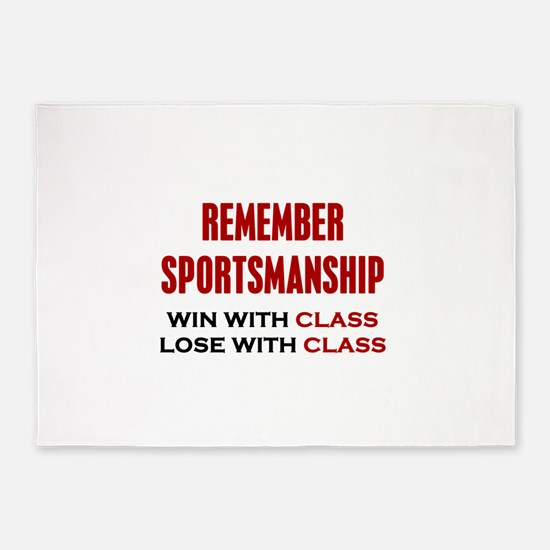 Sportsmanship 5'x7'Area Rug