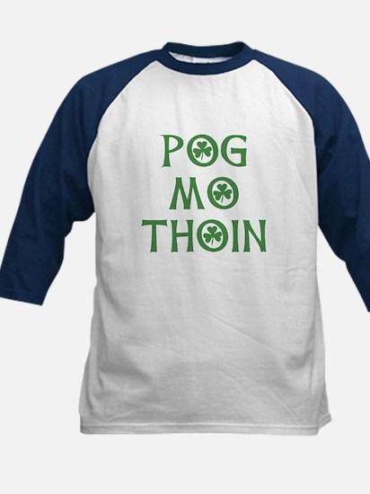 Pog Mo Thoin Shamrock Kids Baseball Jersey
