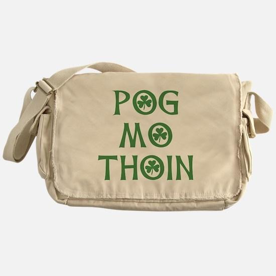 Pog Mo Thoin Shamrock Messenger Bag