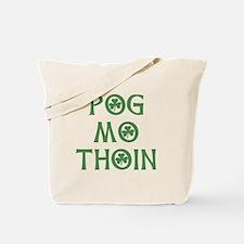 Pog Mo Thoin Shamrock Tote Bag